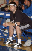 Chris Kirkpatrick of 'NSync' during Frankie Muniz Hosts 'HoopLA' a Celebrity Basketball Game Which Benefits The Starlight Children's Foundation at...