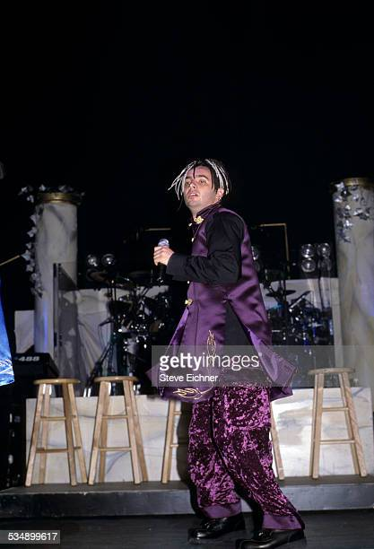 Chris Kirkpatrick of N'Sync performs at World Aids Day Benefit Beacon Theater New York December 17 1998