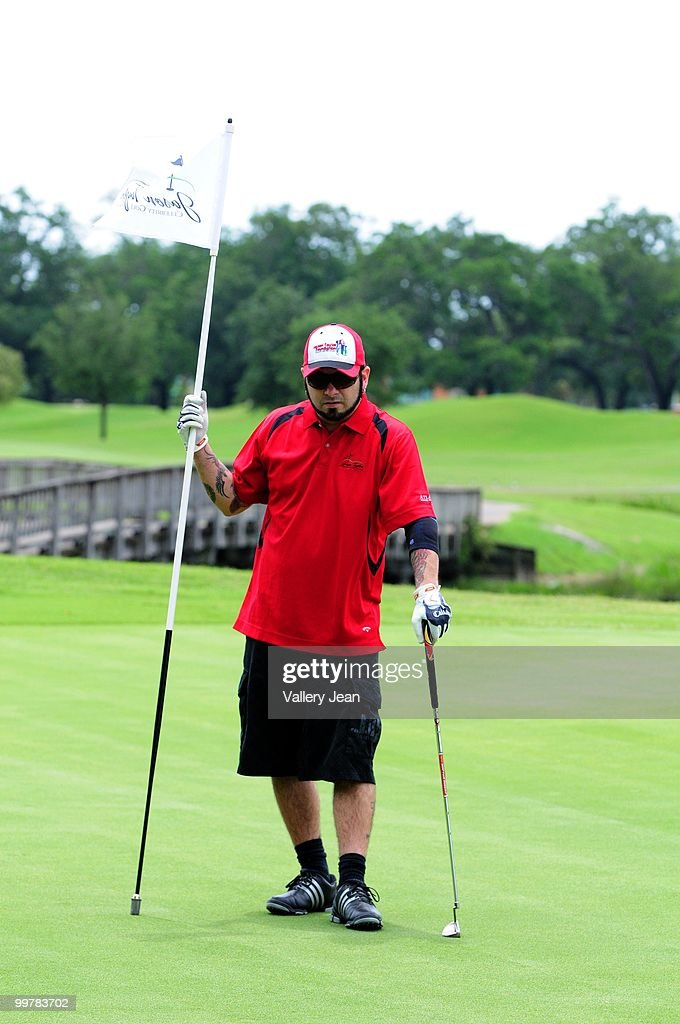 Chris Kirkpatrick of pop group 'N Sync attends The Jason Taylor Celebrity Golf Classic at Grande Oaks Golf Club on May 17, 2010 in Davie, Florida.