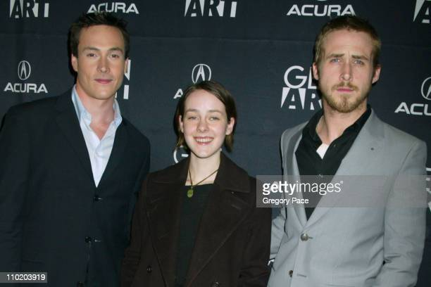 Chris Klein Jena Malone and Ryan Gosling during 'The United States Of Leland' New York Premiere at Chelsea 9 Theatre in New York City New York United...