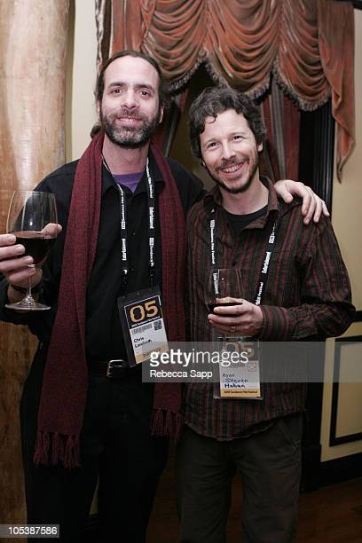 Chris Landreth director and Steve Hoban producer both of 'Ryan'