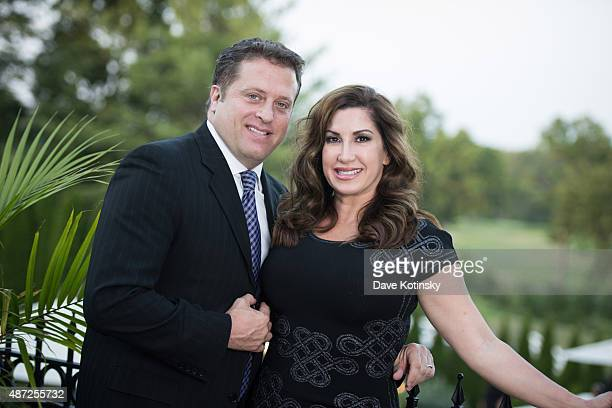 Chris Laurita and RHONJ Jacqueline Laurita attend the wedding of plastic surgeon and television personality Dr Ramtin Kassir MD to Dr Sheila Malek at...