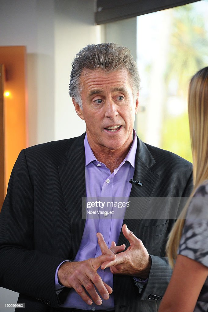 Chris Lawford visits Extra at The Grove on January 28, 2013 in Los Angeles, California.