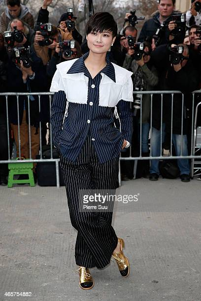 Chris Lee attends the Chanel show as part of the Paris Fashion Week Womenswear Fall/Winter 2015/2016 on March 10 2015 in Paris France