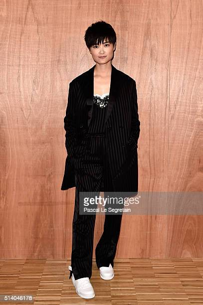 Chris Lee attends the Givenchy show as part of the Paris Fashion Week Womenswear Fall/Winter 2016/2017 on March 6 2016 in Paris France