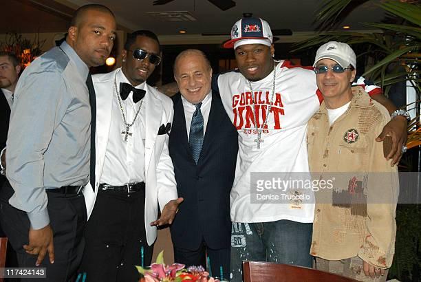 Chris Lighty P Diddy Doug Morris 50 Cent Jimmy Iovine