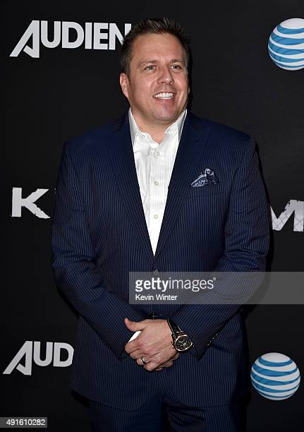 Chris Long Senior Vice President Original Content and Production ATT attend the premiere of DIRECTV's 'Kingdom' Season 2 at SilverScreen Theater at...