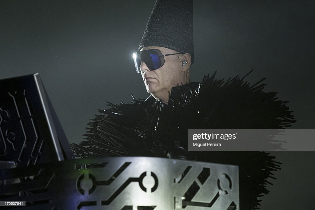 Chris Lowe, of Pet Shop Boys' performing live at Sonar on June 15, 2013 in Barcelona, Spain.