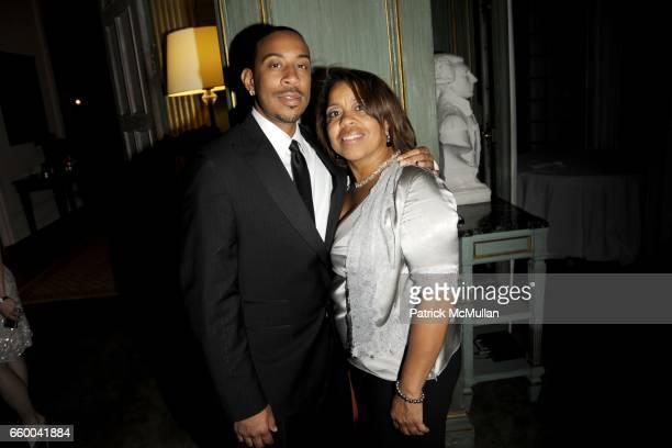 Chris 'Ludacris' Bridges and Roberta Shields attend BLOOMBERG VANITY FAIR Cocktail Reception After the White House Correspondents' Dinner at The...