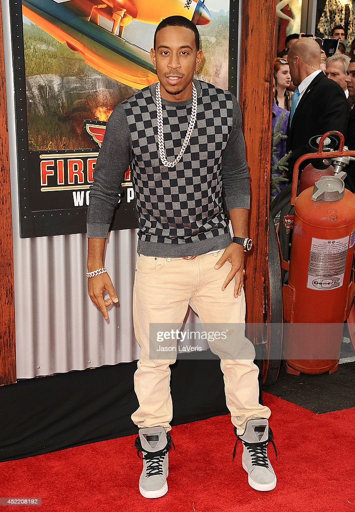 Chris '<a gi-track='captionPersonalityLinkClicked' href=/galleries/search?phrase=Ludacris&family=editorial&specificpeople=203034 ng-click='$event.stopPropagation()'>Ludacris</a>' Bridges attends the premiere of 'Planes: Fire & Rescue' at the El Capitan Theatre on July 15, 2014 in Hollywood, California.