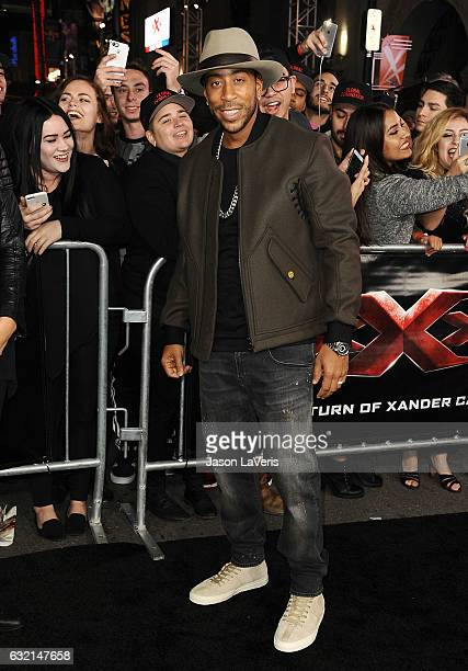 Chris 'Ludacris' Bridges attends the premiere of 'xXx Return of Xander Cage' at TCL Chinese Theatre IMAX on January 19 2017 in Hollywood California