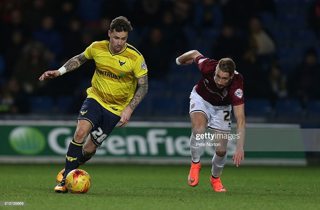 Oxford United v Northampton Town - Sky Bet League Two