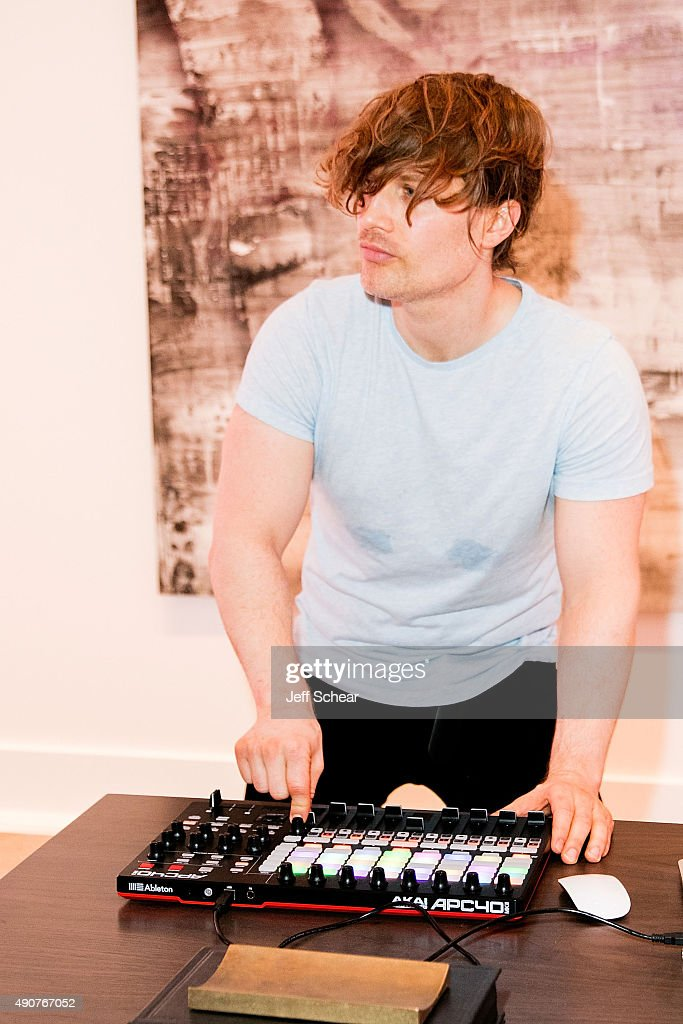 DJ Chris Malinchak performs at Restoration Hardware Celebrates The Opening Of RH Chicago - The Gallery At The Three Arts Club at Restoration Hardware on September 30, 2015 in Chicago, Illinois.