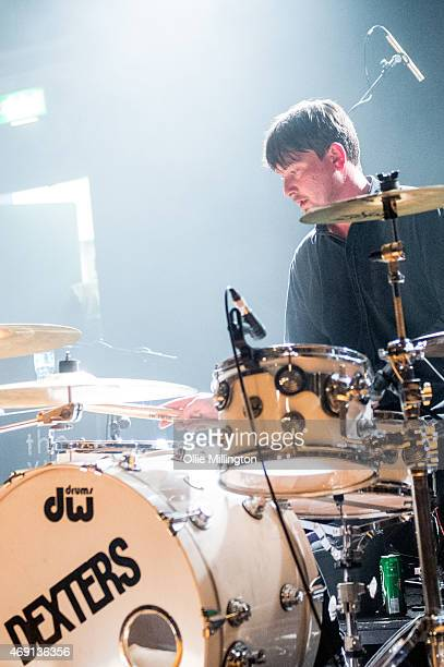 Chris Mardon of Dexters performs on stage at O2 Academy Leicester on April 9 2015 in Leicester United Kingdom