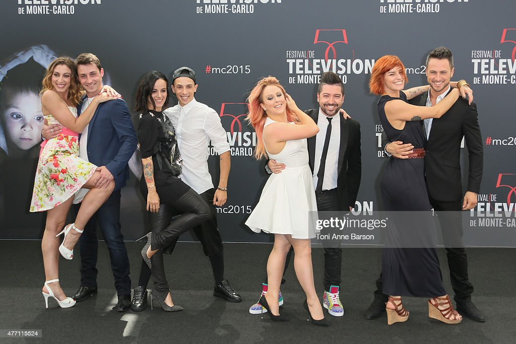Chris Marques and the cast attend photocall for'Dance with the Stars' at the Grimaldi Forum on June 14, 2015 in Monte-Carlo, Monaco.