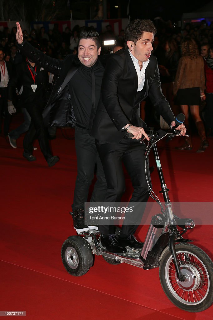 Chris Marques arrives at the 15th NRJ Music Awards at the Palais des Festivals on December 14, 2013 in Cannes, France.