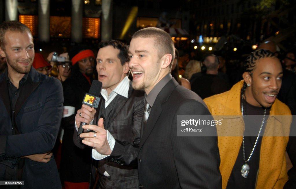 Chris Martin John Norris Justin Timberlake and Ludacris