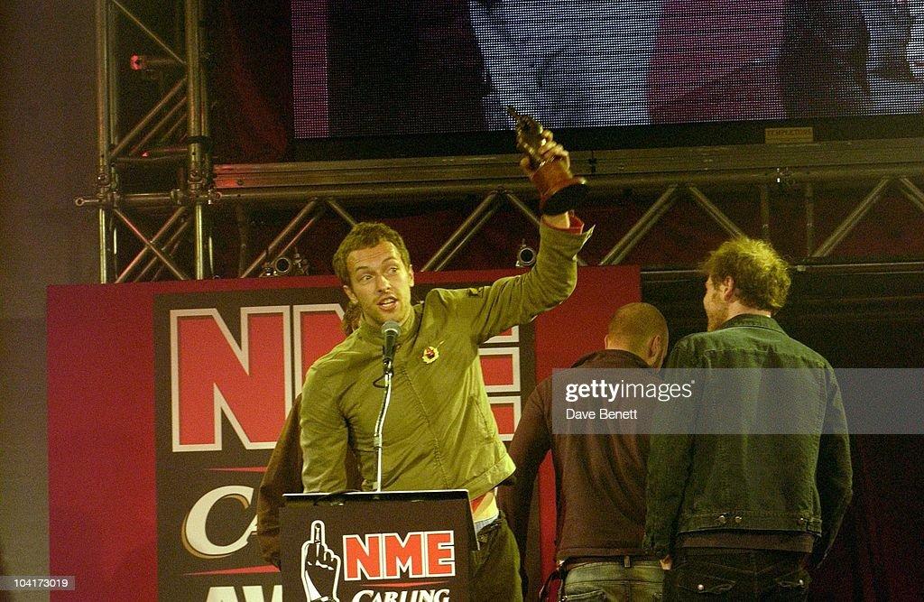 Chris Martin (coldplay), Nme Carling Awards 2003, At Po Na Na, Hammersmith, London