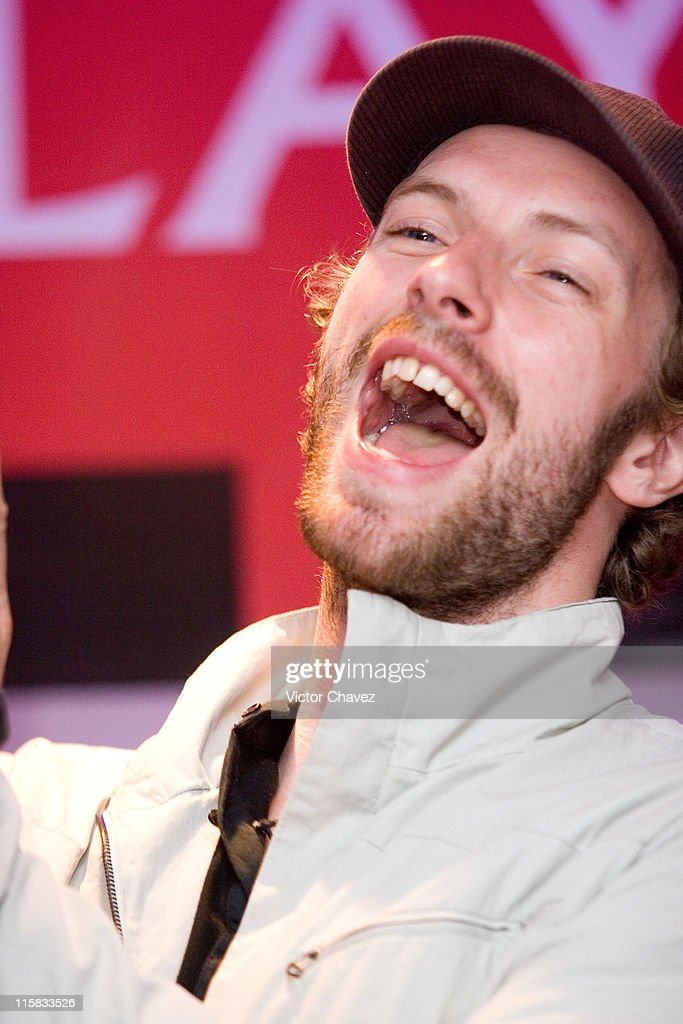 """Coldplay Press Conference - Final Performance of their """"X&Y"""" Tour in Mexico City - March 4, 2007"""