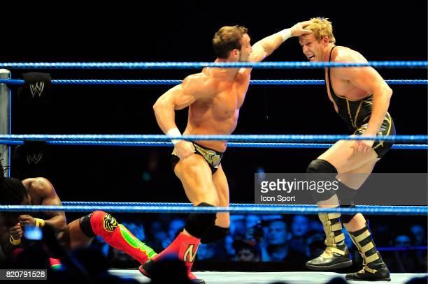Chris Masters / Jack Swagger Battle Royal Wrestlemania Revenge Tour Halle Tony GarnierLyon