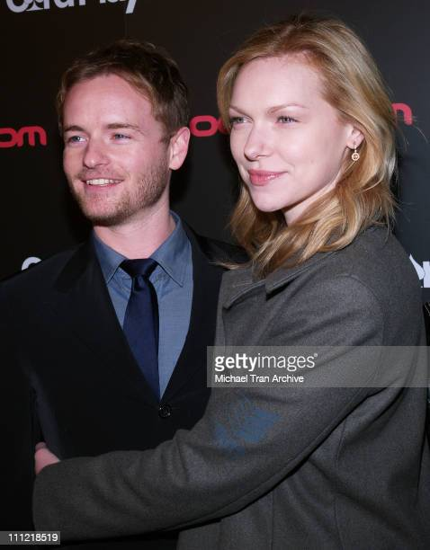 Chris Masterson and Laura Prepon during Bodogcom Presents 'Card Player's Player of The Year' Awards Arrivals at Henry Fonda Theatre in Hollywood CA...