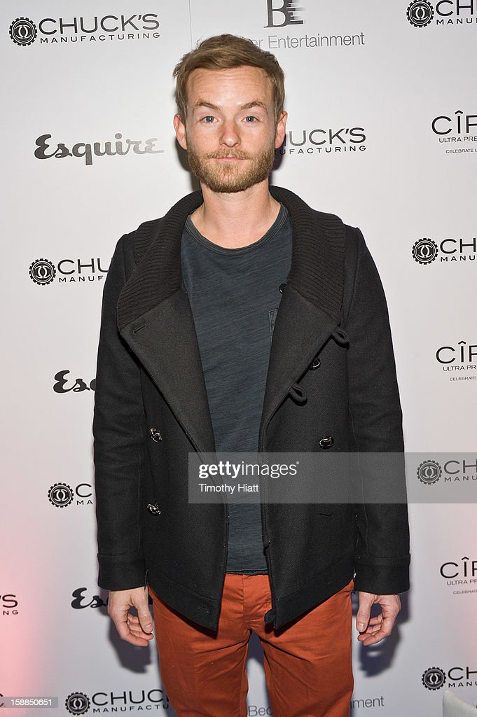 Chris Masterson attends Esquire Eve At Chuck's Manufacturing Presented By Ciroc at Hard Rock Hotel Chicago on December 31, 2012 in Chicago, Illinois.