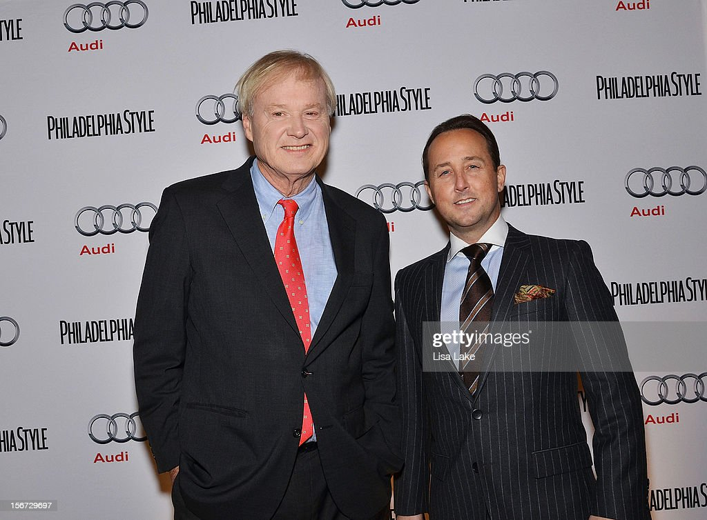 <a gi-track='captionPersonalityLinkClicked' href=/galleries/search?phrase=Chris+Matthews+-+Television+Personality&family=editorial&specificpeople=651505 ng-click='$event.stopPropagation()'>Chris Matthews</a> poses with John Colabelli publisher of Philadelphia Style Magazine during the Philadelphia Style Magazine Cover Event Hosted By <a gi-track='captionPersonalityLinkClicked' href=/galleries/search?phrase=Chris+Matthews+-+Television+Personality&family=editorial&specificpeople=651505 ng-click='$event.stopPropagation()'>Chris Matthews</a> on November 19, 2012 in Philadelphia, Pennsylvania.