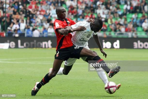Chris MAVINGA / M'Baye NIANG Rennes / Caen 4eme journee de Ligue 1