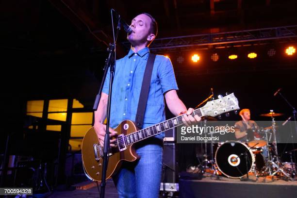 Chris McCaughan of Lawrence Arms performs at House of Vans Chicago on June 22 2017 in Chicago Illinois
