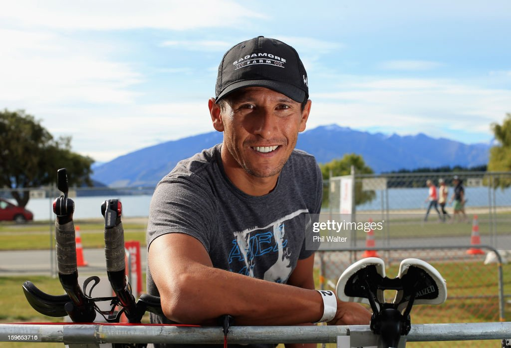 Chris McCormack of Australia poses for a portrait prior to the Challenge Wanaka on January 18, 2013 in Wanaka, New Zealand.