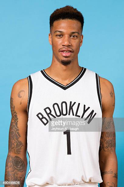 Chris McCullough of the Brooklyn Nets poses for a photo during media day on September 28 2015 in East Rutherford NJ NOTE TO USER User expressly...