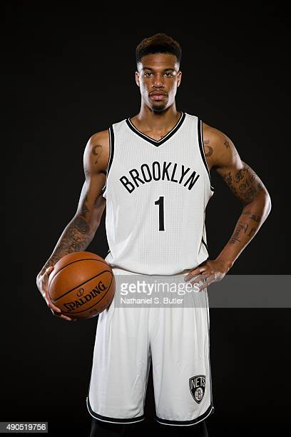 Chris McCullough of the Brooklyn Nets poses for a photo during Media Day at the Brooklyn Nets Practice Facility NOTE TO USER User expressly...