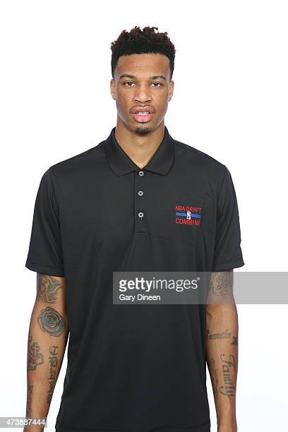 Chris McCullough poses for a headshot during the 2015 NBA Draft Combine on May 16 2015 at Northwestern Memorial Hospital in Chicago Illinois NOTE TO...