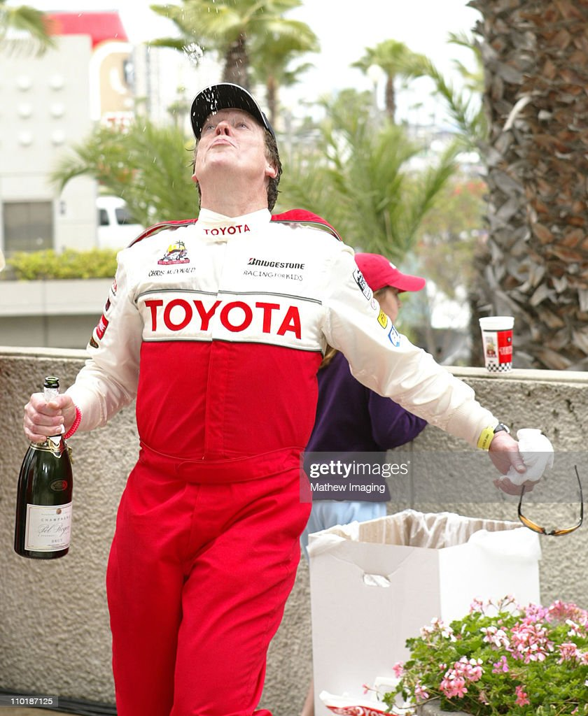 Chris McDonald during 28th Annual Toyota Pro/Celebrity Race Race Day at Streets of Long Beach in Long Beach California United States