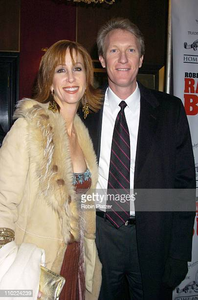 Chris McGurk and wife Jamie during 'Raging Bull' 25th Anniversary and Collector's Edition DVD Release Celebration at The Ziegfeld Theatre in New York...