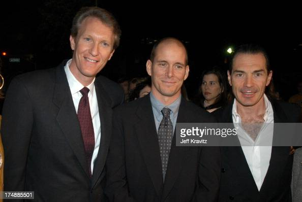 Chris McGurk Chris Koch and Alex Yemenidjian during 'A Guy Thing' Premiere at Mann's Bruin Theatre in Los Angeles CA United States