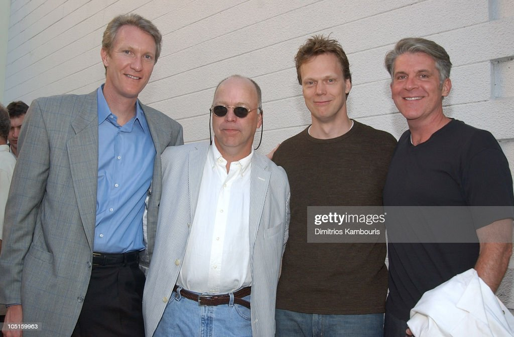 Chris McGurk, Vice-Chair/COO, MGM, Bingham Ray, President, United Artists, Director Peter Hedges and Producer John Lyons