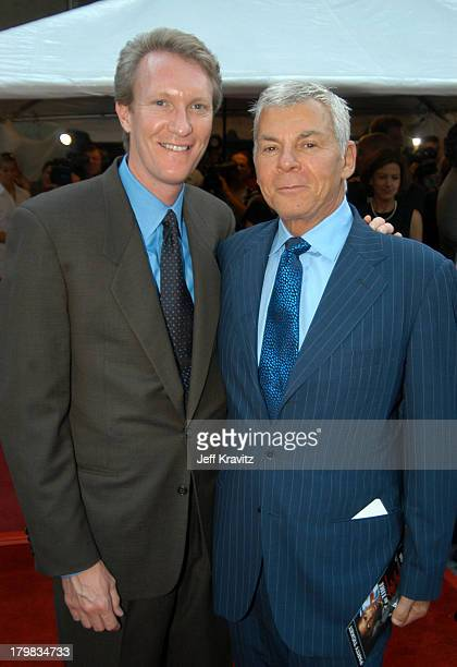 Chris McGurk with ICM agent Ed Limato during 2003 Toronto Film Festival Out of Time Premiere at Roy Thomason Hall in Toronto Ontario Canada