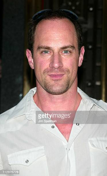 Chris Meloni during 'The Sopranos' 4th Season Premiere at Radio City Music Hall in New York City New York United States