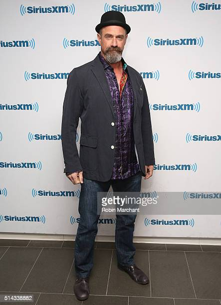 Chris Meloni visits at SiriusXM Studio on March 8 2016 in New York City