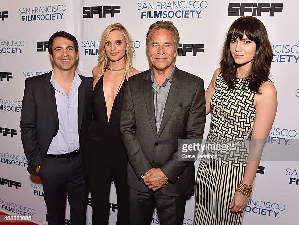 Chris Messina Katie Nehra Don Johnson and Mary Elizabeth Winstead attend the 57th San Francisco International Film Festival on closing night for the...