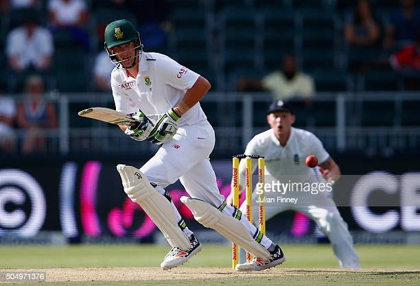 Chris Morris of South Africa bats during day one of the 3rd Test at Wanderers Stadium on January 14 2016 in Johannesburg South Africa