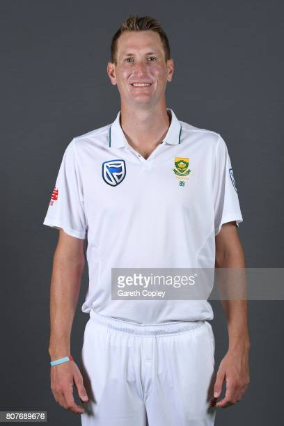 Chris Morris of South Africa poses for a portrait at Lord's Cricket Ground on July 4 2017 in London England