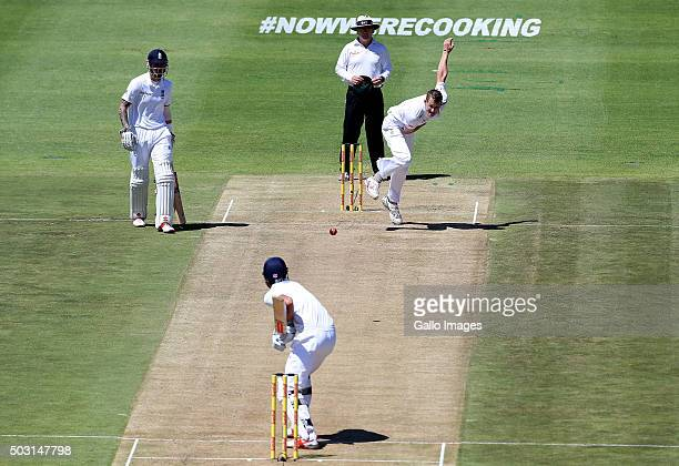 Chris Morris of the Proteas in action during day 1 of the 2nd Test match between South Africa and England at PPC Newlands on January 02 2016 in Cape...