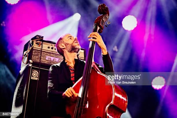 Chris Morrissey Performs at Jazz Middelheim Festival on August 03 2017 in Antwerp Belgium