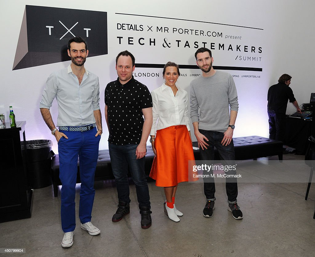 DETAILS & MR PORTER.COM PresentTXT: Tech & Tastemakers Summit ...