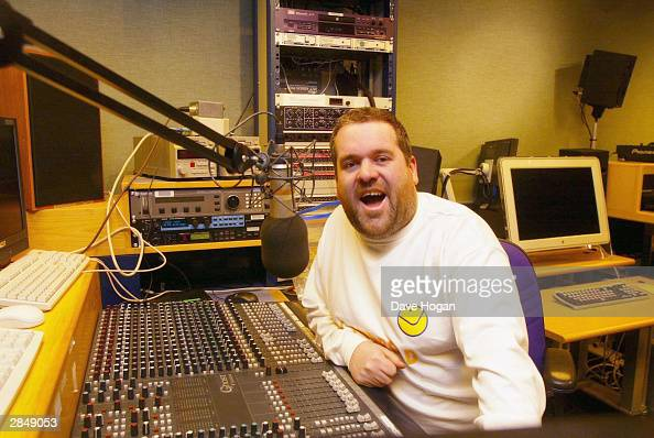 Chris Moyles at the BBC Radio 1 Studios on December 23 2003 in London Chris takes over the Radio 1 Breakfast Show on January 5th 2004