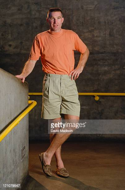 Chris Mullin of the Golden State Warriors poses for a portrait during October 1991 at the Oakland Coliseum in Oakland California