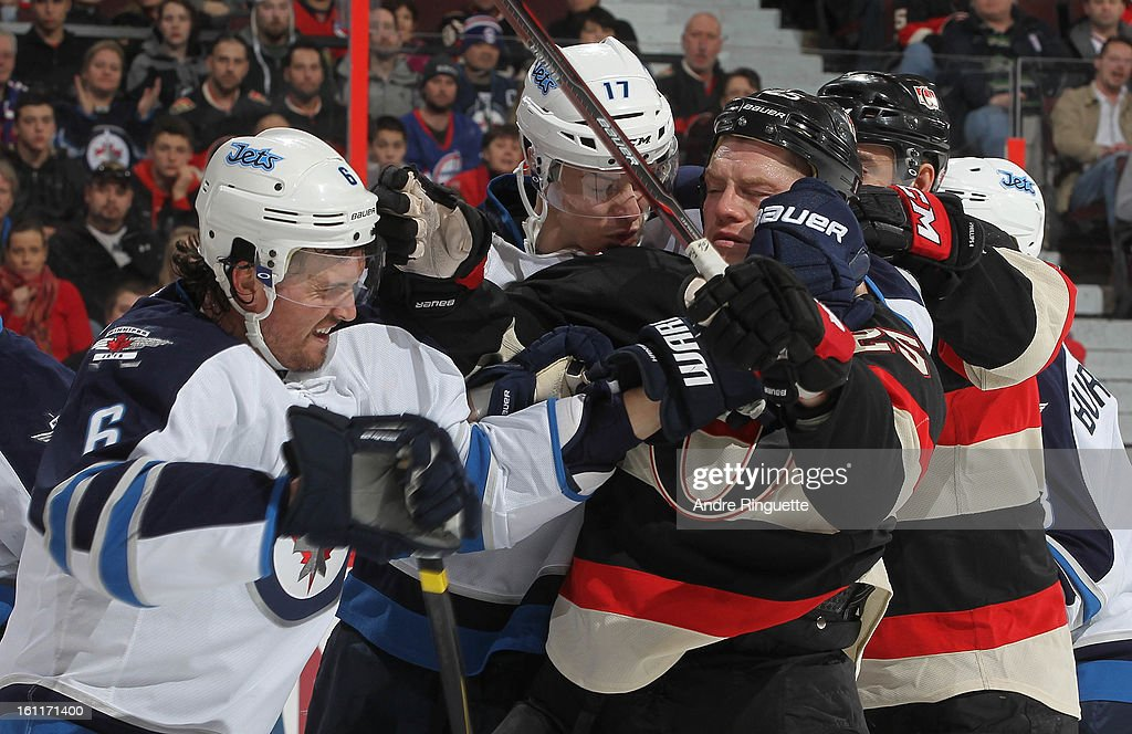Winnipeg Jets v Ottawa Senators