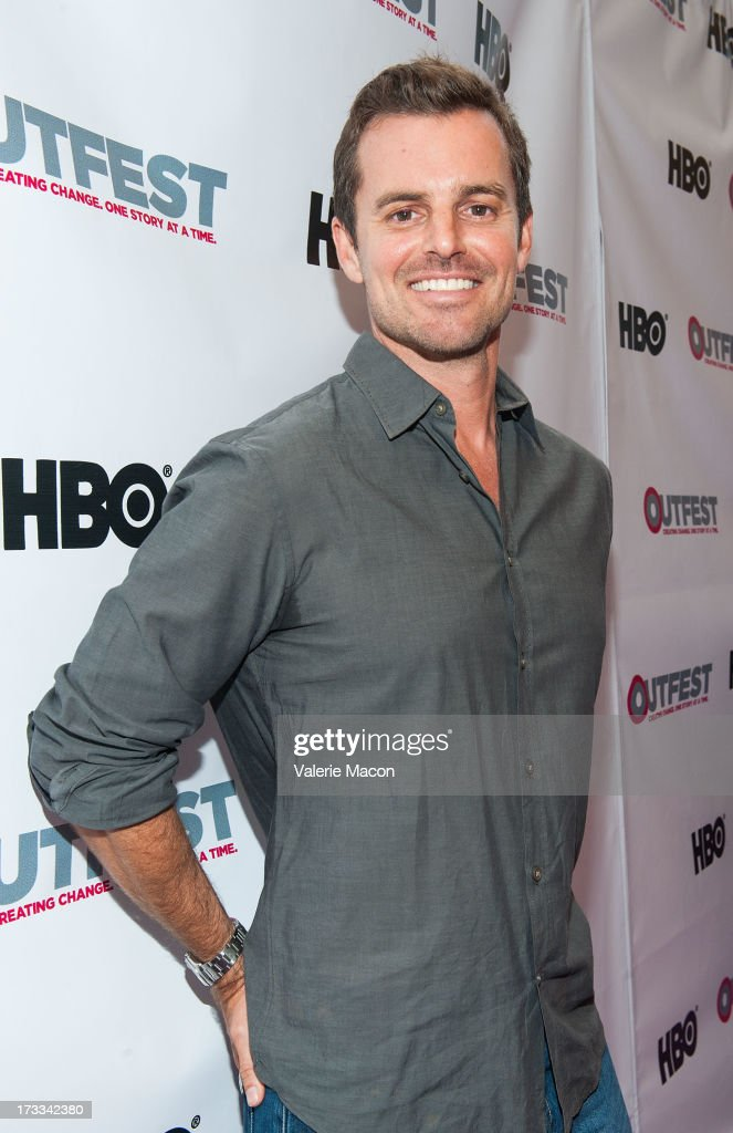 Chris Nelson attends the 2013 Outfest Opening Night Gala Of 'C.O.G.' - Red Carpet at Orpheum Theatre on July 11, 2013 in Los Angeles, California.
